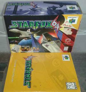 Caja Vacia Juego Nitendo 64 Starfox64