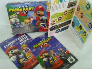 Caja Vacia Juego Nitendo Mario Kart 64