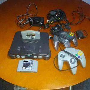 Consola Nintendo 64 Para Coleccionistas Y Fanaticos