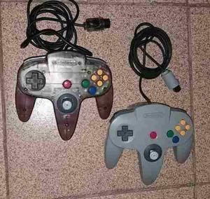 Controles Nintendo 64