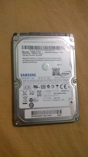 Disco Duro Samsung 320 Gb Sata Para Laptop, Pc, Canaima, Ps3