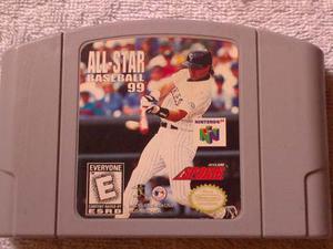 Juego De Nintendo 64 All Star Baseball 99