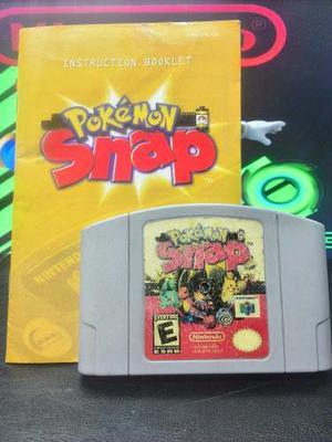 Juego De Nintendo 64 Pokemon Snap 100% Original Y Funcional