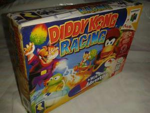 Juego Nitendo 64 Diddy Kong Racing Con Caja
