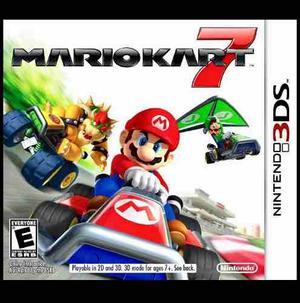 Juego Original Nintendo 3ds Mario Kart 7. Como Nuevo