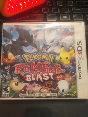 Juegos Nintendo 3ds Pokémon Rumble Blast
