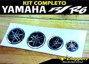 Kit Completo Emblemas 3d Para La Yamaha R1 Y R6