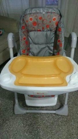 Mesa De Comer Para Bebe Capella