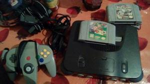 Nintendo 64 Con 4 Juegos.. Vendo O Cambio Por Celular