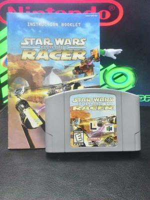 Nintendo 64 Star Wars Racer 100% Original Y Funcional