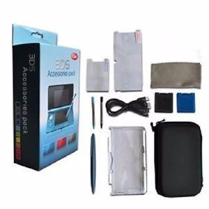 Paquete De Accesorios Nintendo 3ds Pequeño 12 En 1 Nuevo