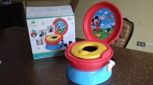 Poceta Para Niños 3 En 1 Mickey Mouse Importada