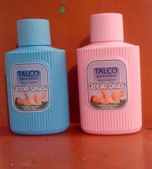 Talco Para Niños Y Niñas Fresh Ones