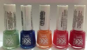 Xtreme Color Valmy 5 Esmaltes Pinturas De Uñas Combo Oferta