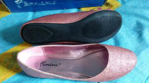 Zapatillas Femini Escarchadas