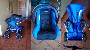 Coche Para Bebé Marca Quinny + Silla Para Carro