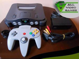 Videoconsola NITENDO 64 varios juegos