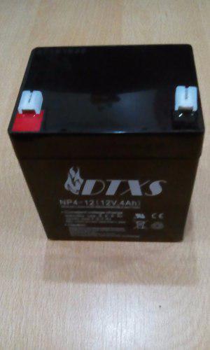 Batería Pila 12 V 4 Ah Para Ups, Alarmas. I.v.a Incluido.