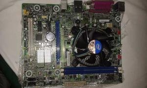 Combo Tarjeta Madre  Procesador G Dual Core 4gb Ram
