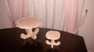 Juego De Bases Decorativas Cupcakes Y Tortas Candy Bar