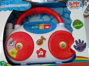 Juguete Didactico Baby Radio Bebes Baby Jeidy Musicales
