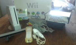 Nintendo Wii Chipeado + Accesorios + Juegos