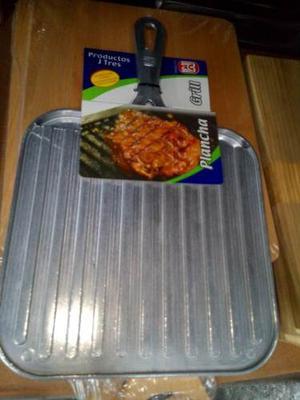 Plancha Grill Lisa Pulida Reversible