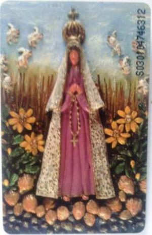 Tarjeta Cantv  Virgen Del Valle - Devociones Populares