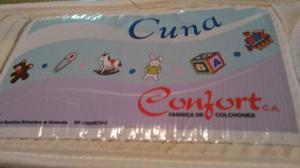 Colchón Para Cuna De Bebe Marca Confot Y Protector