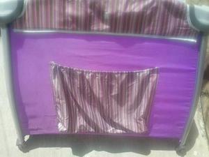 Corral Para Niño Color Violeta Cutebabies Usado