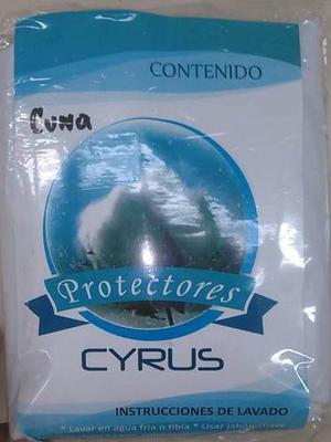 Forro Protector De Cuna Impermeable