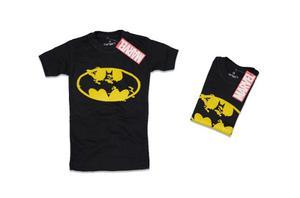 Franelas De Niño Color Negro Talla 2 Batman.