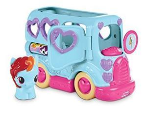 My Little Pony Rainbow Dah Autobús De La Amistad