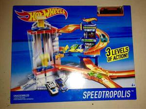 Pista Hot Wheels Speedtropolis