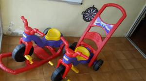 2 Triciclos Fisher Price 3 En 1