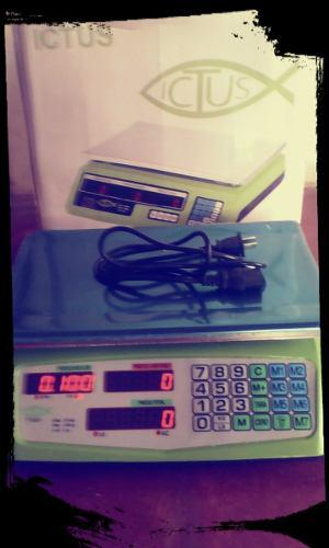 Balanza Digital 40 Kilos. Con Bateria Recargable