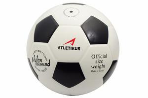 Balon De Futbol N5 Moon Atletikus (blanco/negro)