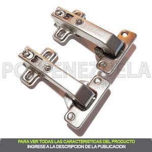 Bisagras 35mm Esquinera Para Puertas De Esquina X Par *h