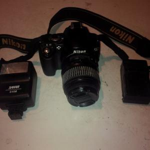 Camara Profesional Nikon D40x