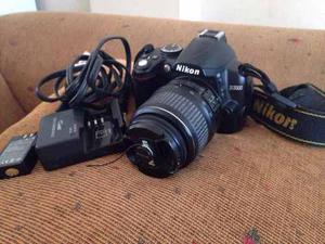 Cámara Profesional Nikon D Como Nueva