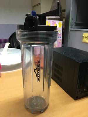 Envase Plástico Para Filtro Y 4 Repuestos