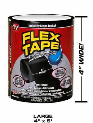 Flex Tape Cinta Adhesiva Impermeable De Caucho 100% Original