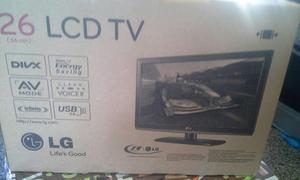 Tv Lcd 26 Lg Nuevo En Su Caja