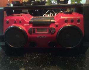 Equipo De Sonido Sony Radio Mp3 Portátil