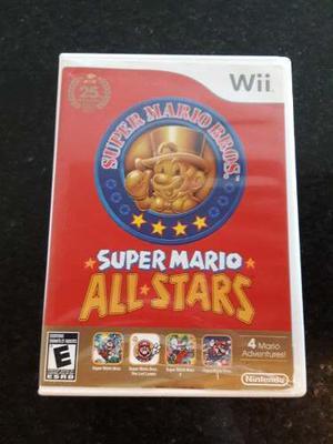 Juego De Wii. Super Mario All Stars. Limited Edition.
