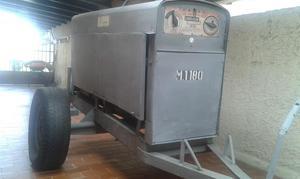 Máquina de Soldar Lincoln Diesel 400 Amp, sobre trailer