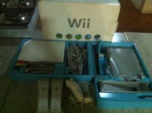 Nintendo Wii Consola Chipeado Con Controles Oferta