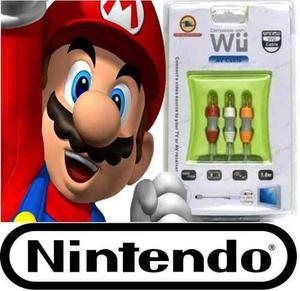 Remate Remate Cable Av De Audio Y Video Nintendo Wii