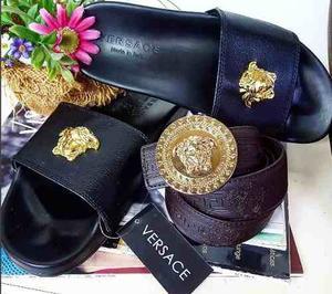 Sandalias Cholas Unisex Gucci Lv Versace Louis Vui