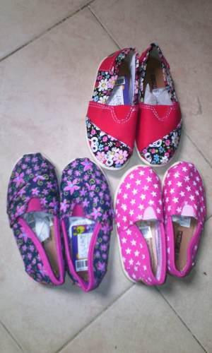 Zapatillas De Niñas Casuales Estampadas Toreritas